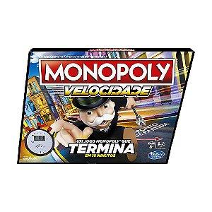Jogo de Tabuleiro Hasbro Monopoly Velocidade