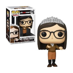 Boneco Amy Farrah Fowler 779 The Big Bang Theory - Funko Pop!