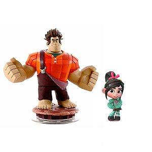 Boneco Disney Infinity: Detona Ralph e Vanellope - Xbox 360 e PS3