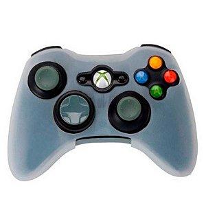 Capa de silicone branca para controle - Xbox 360