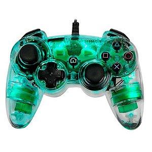 Controle Afterglow Dualshock 3 Verde com fio - PS3