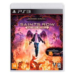 Jogo Saints Row IV: Gat out of Hell - PS3