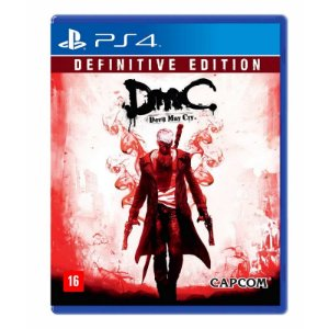 Jogo DmC Devil May Cry: Definitive Edition - PS4