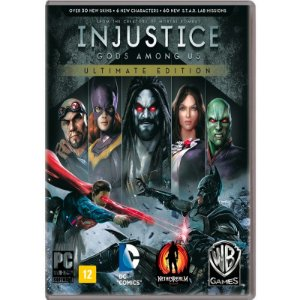 Jogo Injustice: Gods Among Us (Ultimate Edition) - PC
