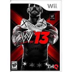 Jogo WWE 13 - Wii