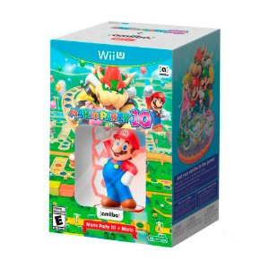 Bundle Mario Party 10 + Amiibo Super Mario - Wii U