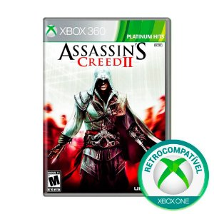 Jogo Assassin's Creed ll - Xbox 360