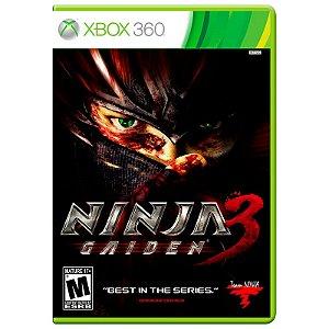 Jogo Ninja Gaiden 3 - Xbox 360