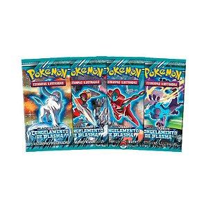 Pack de cartas Pokémon Black & White: Congelamento de Plasma em português