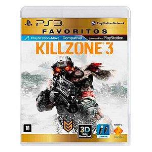 Jogo Killzone 3 - PS3
