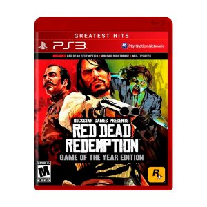 Jogo Red Dead Redemption (GOTY) - PS3