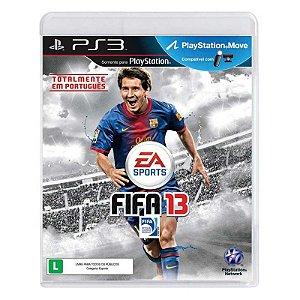 Jogo Fifa 2013 (FIFA 13) - PS3