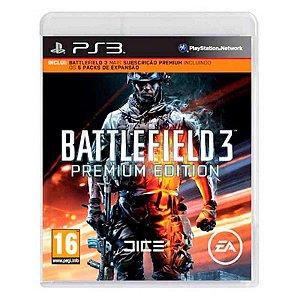 Jogo Battlefield 3 (Premium Edition) - PS3