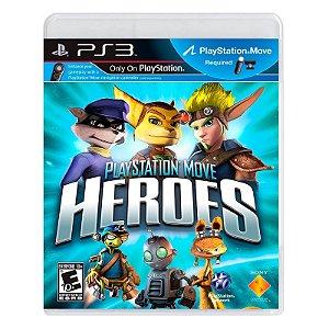 Jogo PlayStation Move Heroes - PS3
