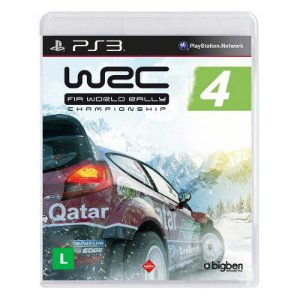 Jogo WRC 4: FIA World Rally Championship - PS3