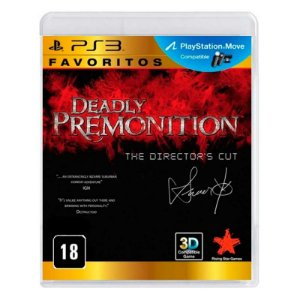 Jogo Deadly Premonition: The Director's Cut - PS3