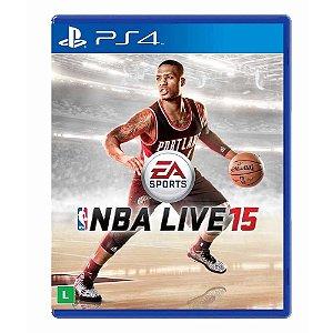 Jogo NBA Live 15 - PS4