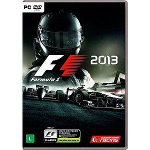 Jogo Formula 1 2013: Edição Clássica - PC