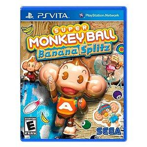 Jogo Super Monkey Ball Banana Splitz - PS Vita