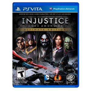 Jogo Injustice: Gods Among Us (Ultimate Edition) - PS Vita