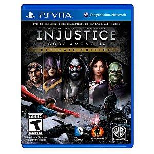 Jogo Injustice: Gods Among Us (Ultimate Edition) - PS Vita