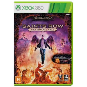 Jogo Saints Row IV: Gat Out of Hell - Xbox 360