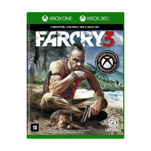 Jogo Far Cry 3 - Xbox 360 e Xbox One