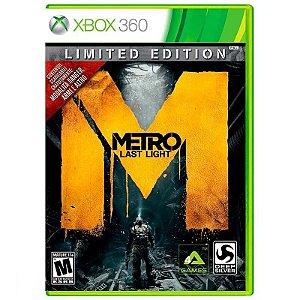 Jogo Metro: Last Light (Limited Edition) - Xbox 360