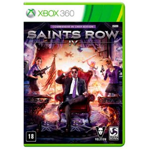 Jogo Saints Row IV: Commander in Chief Edition - Xbox 360