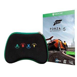 Case para Controle + Jogo Forza Motorsport 5: Completo - Xbox One
