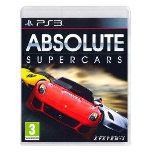 Jogo Absolute Supercars - PS3