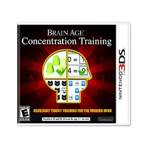 Jogo Brain Age: Concentration Training - 3DS