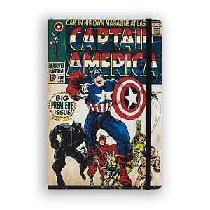 Caderno de Notas Captain America #100 Marvel - Studiogeek