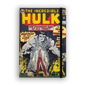 Caderno de Notas The Incredible Hulk #01 Marvel - Studiogeek