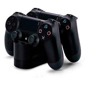 Carregador Sony para 2 Controles Charging Station - PS4