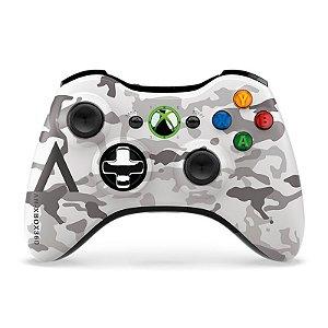 Controle Microsoft Edição Especial Camouflage sem fio - Xbox 360