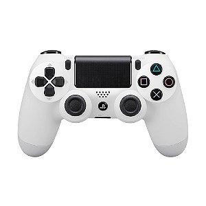 Controle Sony Dualshock 4 Branco sem fio - PS4