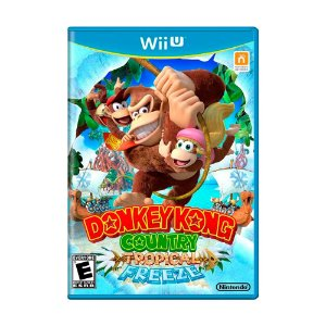 Jogo Donkey Kong Country: Tropical Freeze - Wii U