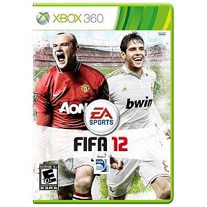 Jogo Fifa 2012 (FIFA 12) - Xbox 360