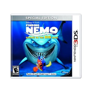 Jogo Finding Nemo: Escape to the Big Blue (Special Edition) - 3DS