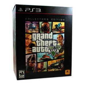 Jogo Grand Theft Auto V - GTA 5 (Collector's Edition) - PS3