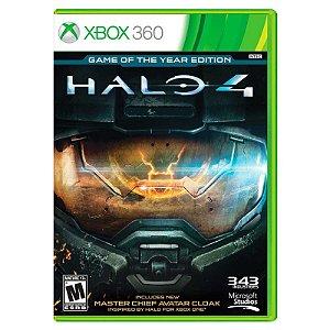 Jogo Halo 4 (GOTY) - Xbox 360
