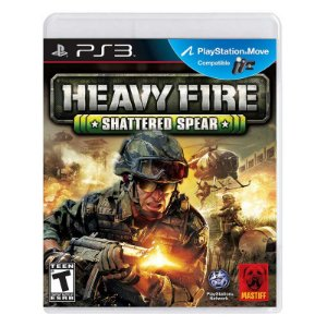 Jogo Heavy Fire: Shattered Spear - PS3