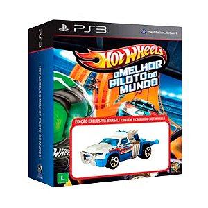 Jogo Hot Wheels: O Melhor Piloto do Mundo + Carrinho Repo Duty - PS3