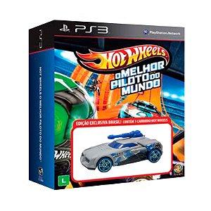 Jogo Hot Wheels: O Melhor Piloto do Mundo + Carrinho Turbo Turret - PS3