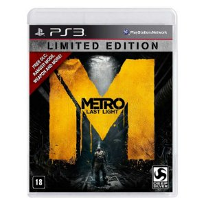 Jogo Metro: Last Light (Limited Edition) - PS3