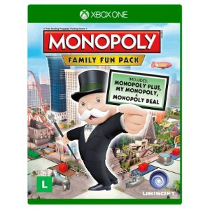 Jogo Monopoly Family Fun Pack - Xbox One