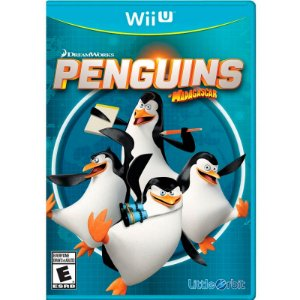 Jogo Penguins of Madagascar - Wii U