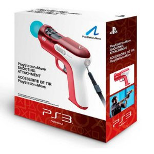 Pistola Sony Move Motion Shooting Attachment - PS3