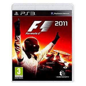 Jogo Fórmula 1 2011 - PS3